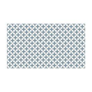 Vinylový koberec Inas Blue, 52x100 cm