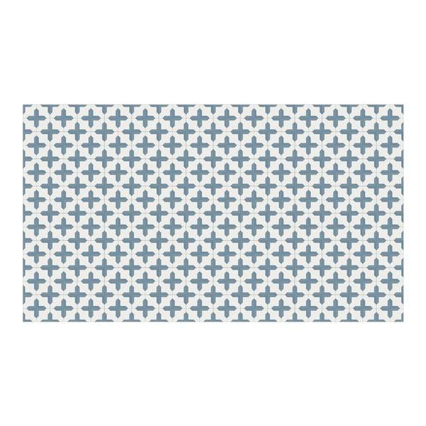 Vinylový koberec Inas Blue, 52x120 cm