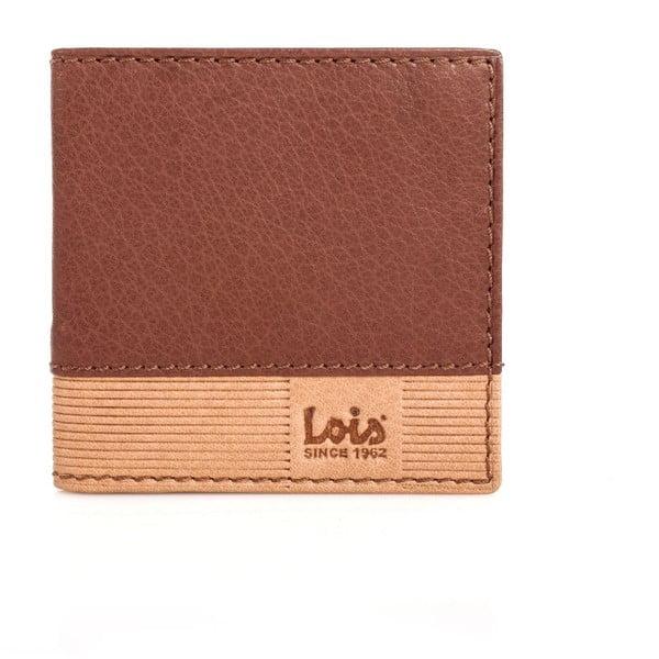 Kožená peňaženka Lois Brown, 9,5x9,5 cm