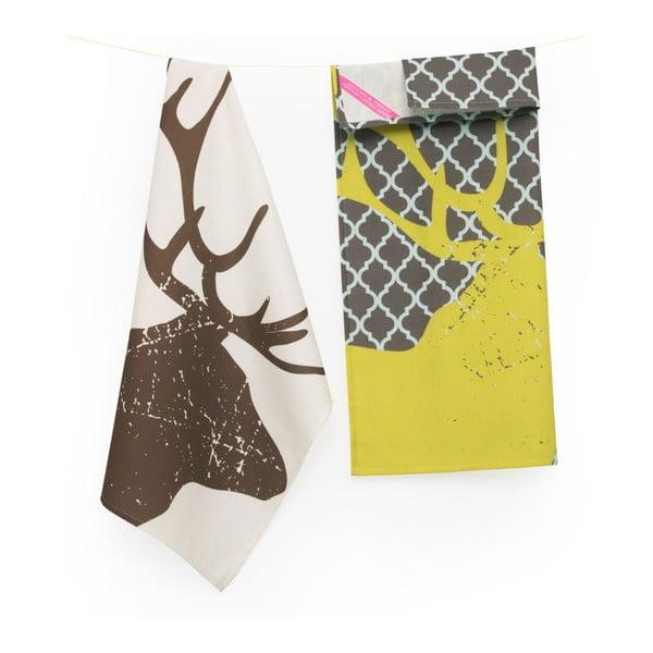 Set dvoch utierok Deer