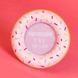 Fotorámček v tvare donutu Just 4 Kids Fast Food Donut