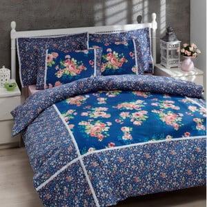 Sada obliečok a plachty In Love Harmonie Blue, 200x220 cm