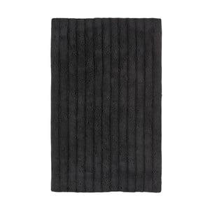 Čierna kúpeľňová predložka Zone One, 50x80cm