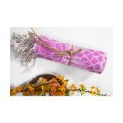 Hammam osuška Lace, ružová