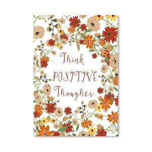 Plagát od Mia Charro - Think Positive Thougths