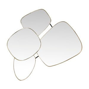 Nástenné zrkadlo Kare Design Shapes, 130 × 105 cm