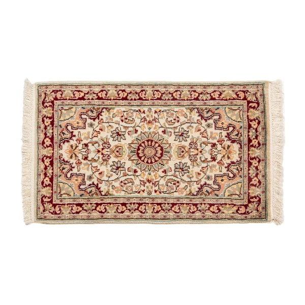 Ručne viazaný koberec Kashmirian, 97x60 cm