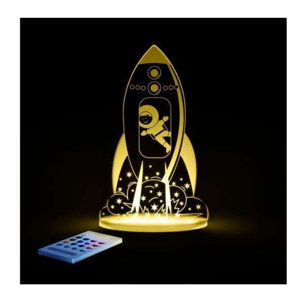Detské LED nočné svetielko Aloka Rocket