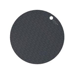 Sada 2 vzorovaných silikónových prestieraní OYOY Dot, ⌀ 39 cm