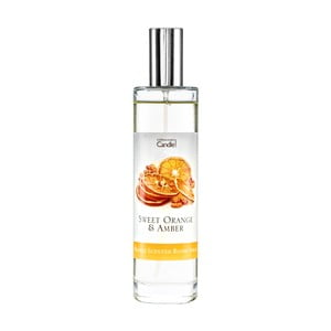 Izbový vonný sprej s vôňou pomaranča a jantáru Copenhagen Candles, 100 ml