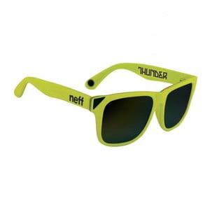 Slnečné okuliare Neff Thundre Neon Yellow