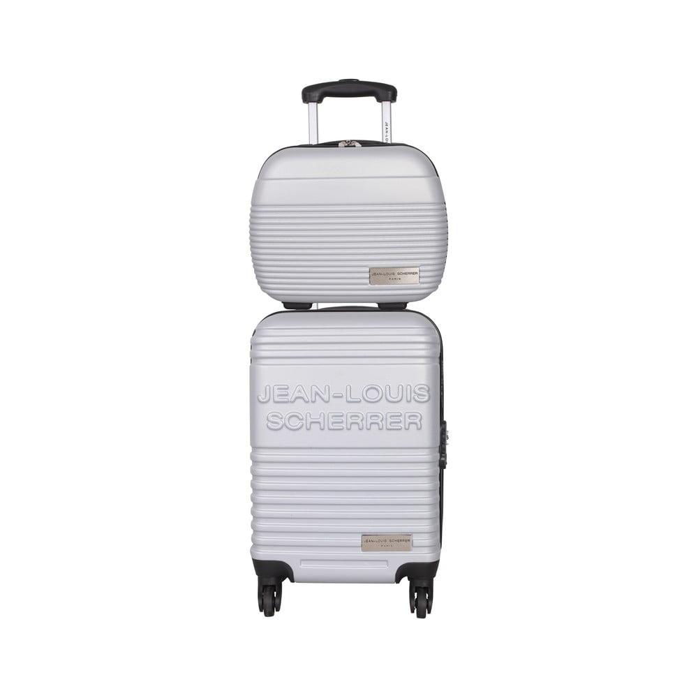 d0124afe48896 Kufor s príručnou taškou Case Jean Louis Scherrer Silver   Bonami