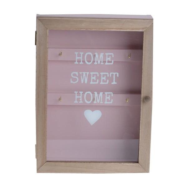 Skrinka na kľúče Home Sweet Home