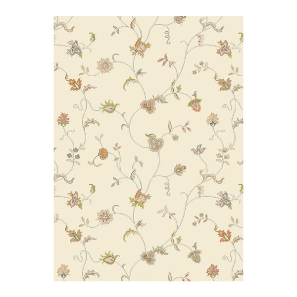 Koberec Asiatic Carpets Xico Floral Cream, 120x170 cm