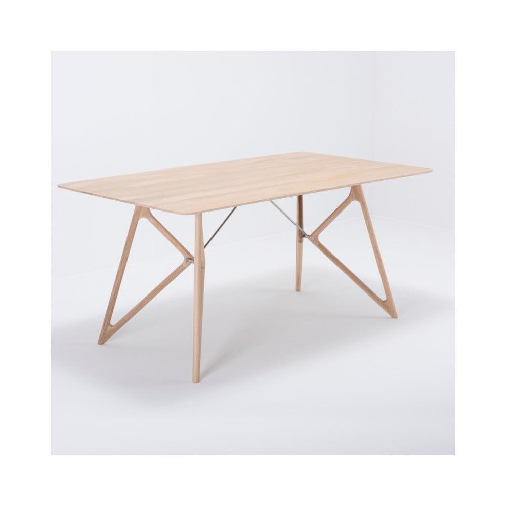 Jedálenský stôl z masívneho dubového dreva Gazzda Tink, 160 × 90 cm