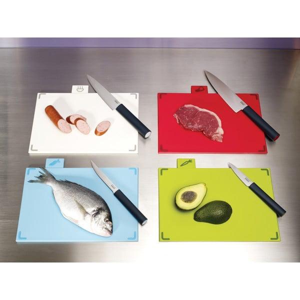 Stojan s krájacími doskami a nožmi Index