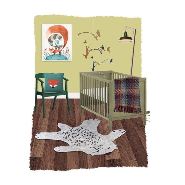 Detský koberec Nattiot Little Fox, 100×120cm