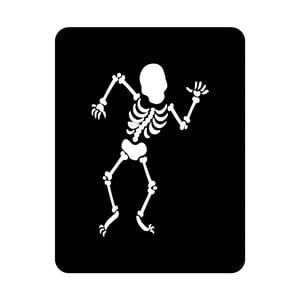 Nástenná svetelná dekorácia Skeleton, 67 × 82 cm