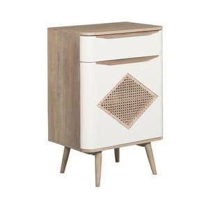 Komoda z masívneho mangového dreva Woodjam Retro Cane Cabinet