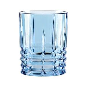 Modrý pohár na whisky z krištáľového skla Nachtmann Highland, 345 ml