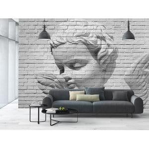 Veľkoformátová tapeta Angel Brick Wall, 366x254 cm
