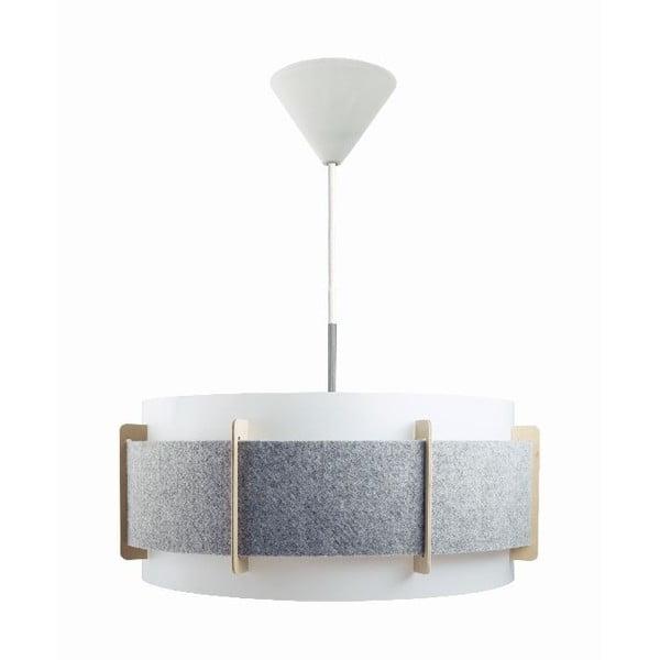 Závesné svietidlo Lux, sivé