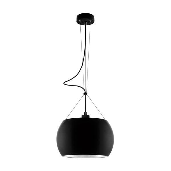 Svetlo MOMO, black matte silver/black