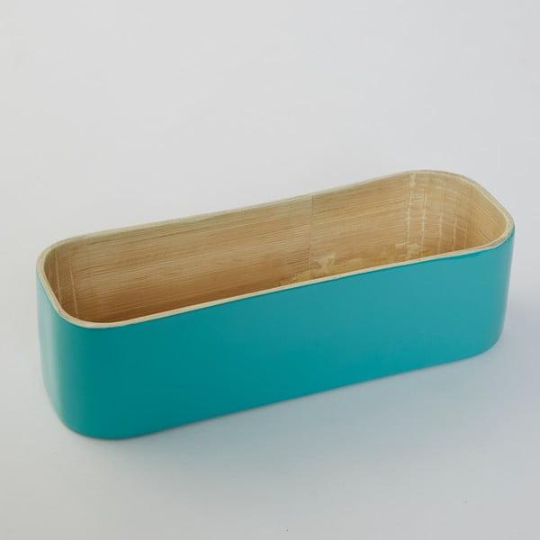 Bambusový box na príbor Tyrkys Bamboo