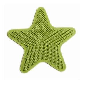 Sada 6 dekoratívnych podložiek do kúpeľne Star Green