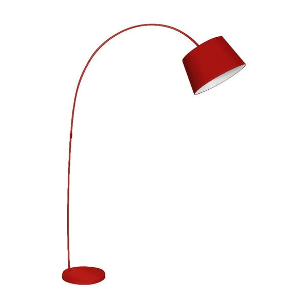 Stolná lampa Arched Red