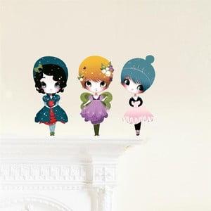 Znovu snímateľná samolepka Chocovenyl Dress Up 3 Dolls