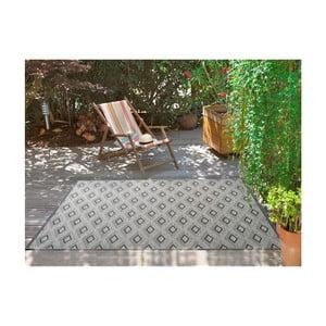 Sivý koberec vhodný aj do exteriéru Universal Weave Kasso, 155 x 230 cm