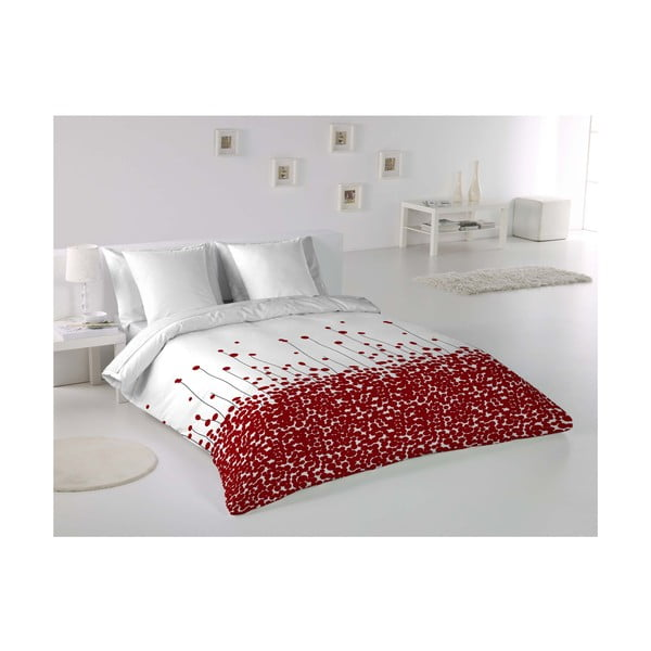 Obliečky Poppies Rojo, 240x220 cm