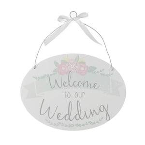Dekorácia Heaven Sends Welcome toOur Wedding