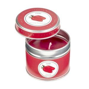 Aroma sviečka v plechovke English Strawberry, doba horenia 32 hodín