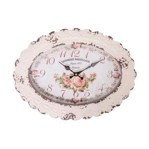 Oválne hodiny Antic Line Savonnerie Marseillaise