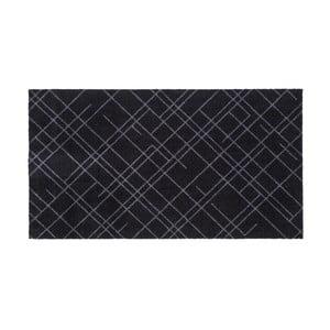 Čierno-sivá rohožka Tica Copenhagen Lines, 67 x 120 cm