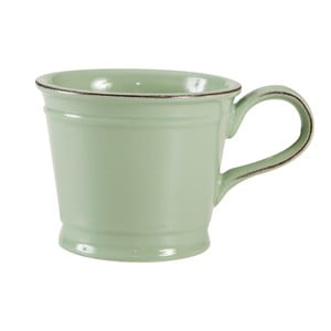 Zelený porcelánový hrnček T&G Woodware Pride of Place, 300 ml