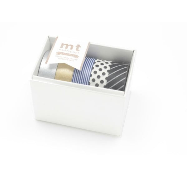 Sada 5 washi pások Gold/Silver