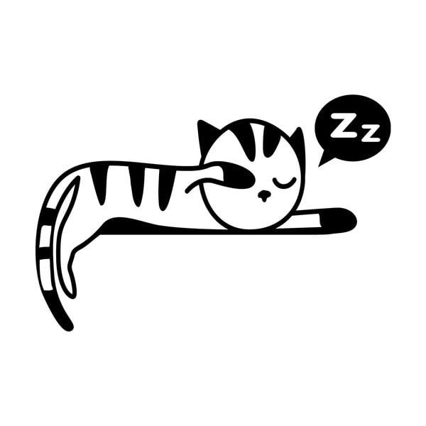 Samolepka Ambiance Sleeping Kitten