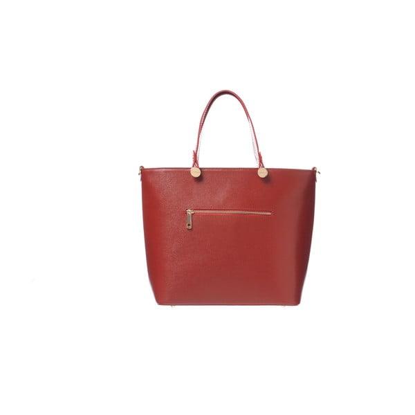 Kožená kabelka Miss Red