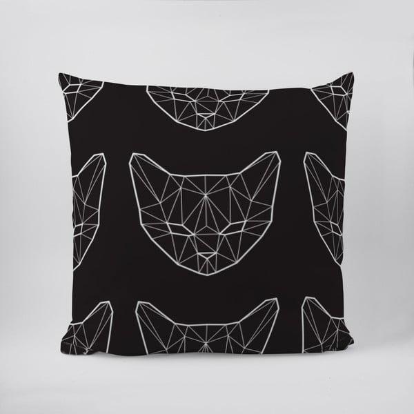 Vankúš Geometric Cat