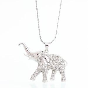 Náhrdelník s krištáľmi Swarovski Elements Laura Bruni Elephant