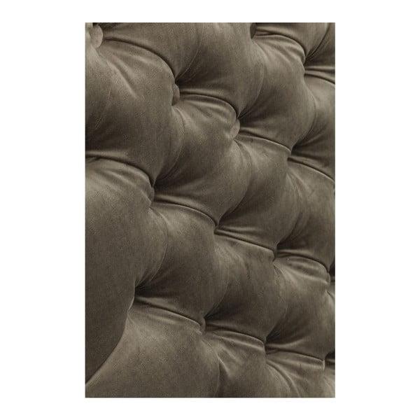 Sivozelená pohovka Kare Design Velvet