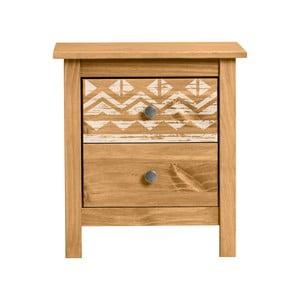 Nočný stolík z borovicového dreva Marckreric Apache