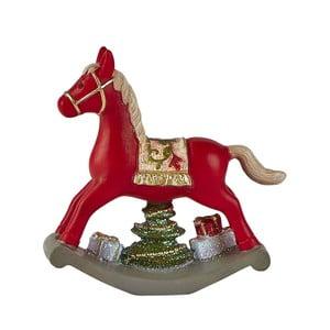 Dekoratívny hojdací kôň KJ Collection, 11 cm
