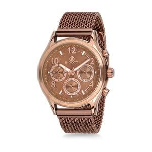 Pánske hodinky bronzové farby z antikoro ocele Bigotti Milano Lukino