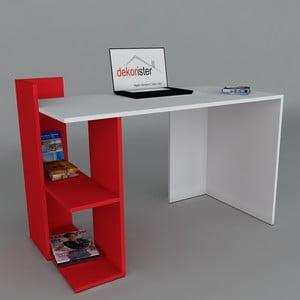 Pracovný stôl Arrival Red, 60x120x73,8 cm