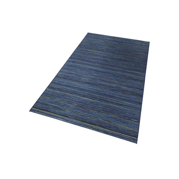 Koberec vhodný do exteriéru Lotus 200x290 cm, modrý melír