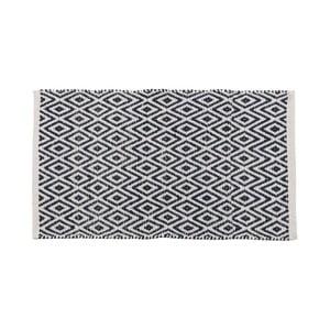 Sivý bavlnený koberec Unimasa Hungary, 80 x 50 cm